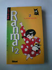 RANMA 1/2 TOME 2 LA ROSE NOIR - GLENAT / LIVRE MANGA VF