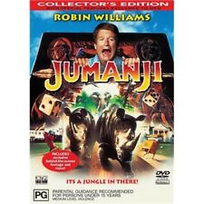 Jumanji DVD BEST FANTASY FILM+ACTOR Robin Williams Kirsten Dunst BRAND NEW R4