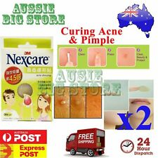 2 x 36 Pcs Nexcare 3M Acne Dressing Pimple Sticker Inflamed Zit Heal Patch Thin