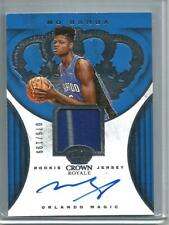 Mo Bamba 18/19 Crown Royale Autograph Game Used Jersey Rookie #76/199