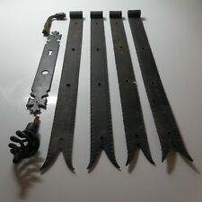 Fer forgé accessoires porte portail penture plaque serrure poignée clenche N5490