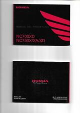Manual del propietario HONDA NC700XD NC 750X/XA/XD  2013  ENVIO GRATIS  MUNDO