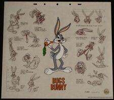 Bugs Bunny Cartoon Animation Cel Art Background