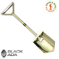 Black Ada Bigfoot Stainless Steel  F/Assist Trowel  - Metal Detecting