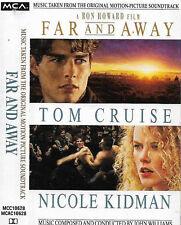John Williams Far And Away CASSETTE ALBUM  FILM Soundtrack The Chieftains Enya