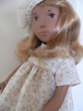 Sasha Doll Outfit .Autumn Leaves dress underwear half-slip beret