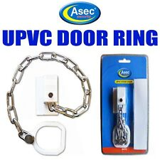 ASEC UPVC Door Chain Restrictor With Secure Ring for Extra Security