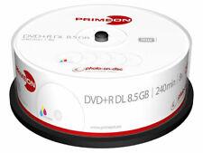 DVD+R Double Layer 8.5GB 8x photo on disc printable 25er Cake