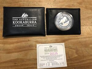 1 Dollar Australien Kookaburra 1992 PP 1oz Silber