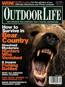 Like New Outdoor Life Magazine lot of 11 2006 Jan-Nov Sister Field & Stream