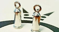 PANDORA   STERLING SILVER BARRELS *NEW* 291002 EARRINGS CHARMS RARE RETIRED 925