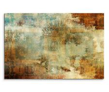 Leinwandbild 120x80cm auf Keilrahmen abstrakt,türkis,blau,grafik,linie,braun