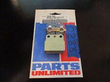 NOS Parts Unlimited Honda Brake Pads 1983-1984 ATC250 R 1986-2002 CR80 PSH20-002