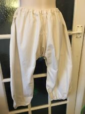 Victorian Style Underwear In Calico - Elasticated Waist