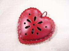 metal heart novelty bell
