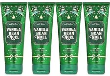 4 Bath & and Body Works VANILLA BEAN NOEL Ultra Shea Body Cream 8 oz 2019