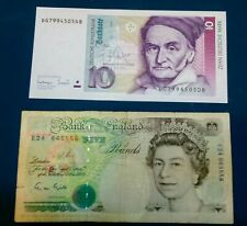 New ListingLot of 2 World Currency Notes (Germany/ Uk)