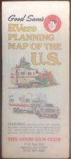 1979 Good Sams RVers Road Map Of The US OldPaperMaps.com