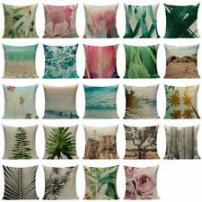 Customied Home Decorative Cushion Covers Plant Series Printing Throw Pillows