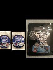 Puck and Pin Combo # 2 NHL Stadium Series Yankee NY Rangers Islanders NJ Devils