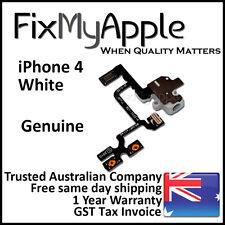 iPhone 4 4G Original White Headphone Audio Jack Volume Flex Cable Replacement