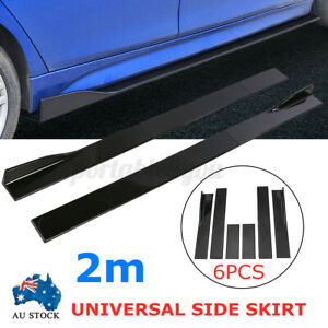 2m Side Skirt Spoiler Rocker Panel For Mitsubishi Lancer Evolution GT EVO CJ GT