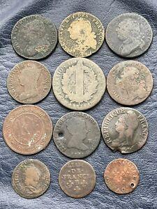 Lot De 12 Pieces Anciennes A Identifier