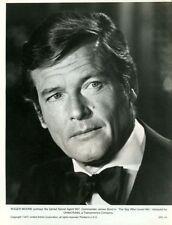 SPY WHO LOVED ME -1977 - 7 original 8x10 Glossy Stills -JAMES BOND - ROGER MOORE