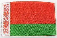 Weißrussland Aufnäher gestickt,Flagge Fahne,Patch,Aufbügler,6,5cm,neu