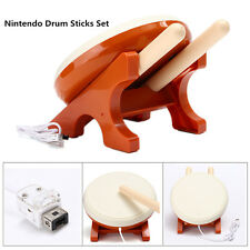 Taiko no Tatsujin Drum Sticks For Nintendo Wii Console Remote Controller Game US