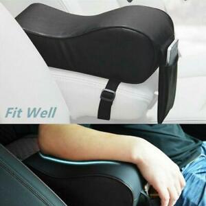 Universal SUV Car PU Armrest Storage Pad Center Arm Cushion Phone Bag Leather