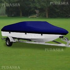 Water Resistant 17' - 19' Trailerable Fishing Ski Bass Boat Cover Storage PBT2N
