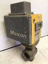 """MAXON 5000 N.C. Automatic Gas Shutoff Valve, 200SMA11-AA11-BB21A0, 2"""" NPT"""