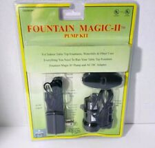 Fountain Magic Water Pump Kit for Indoor Waterfalls & Fountains #1094
