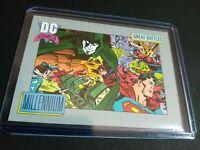 1991 Millennium DC Comics Heritage Trading Card #152 NM 9.5 Impel Justice League