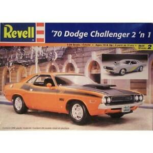 REVELL 1/24 '70 Dodge Challenger 2 'n 1