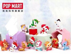 Set of 12 Tokidoki Popmart 2018 Christmas Unicorno Snowflake Rare Santa Reindeer