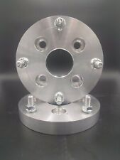 4x110 to 4x156 US Billet Wheel Adapters 20mm Thick 12x1.5 Studs 64mm Bore x 2