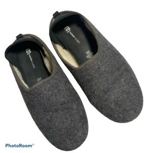 Mohabis Classic Slipper Mens 8.5 - 9 Wool Sherpa