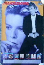 1990 DAVID BOWIE Poster ~ 24 x 36.5
