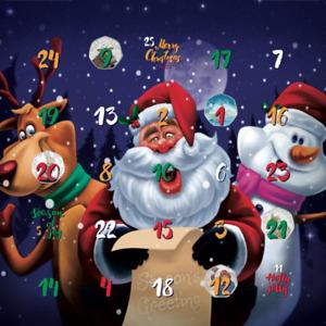 2020 Christmas Coin Hunt Children's Savers xmas Advent Calendar 50p £1 £2 kew
