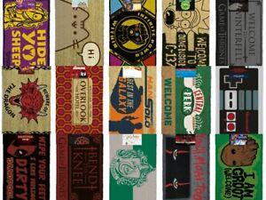Official Branded Doormats choose  Shining Friends Game Thrones Harry Potter etc
