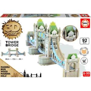Educa 3D Monument Puzzle Tower Bridge 92 pc