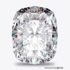 1.51ct H/VS2/Ex Cut Rectangular Cushion AGI Earth Mined Diamond 7.31x5.68x4.05mm