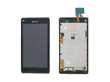 SONY XPERIA L C2105 LCD DISPLAY + TOUCHSCREEN + FRAME BLACK 78P5320001N