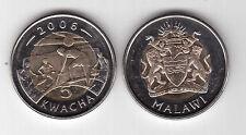 Malawi  5 Kwacha   2006  FDC UNC  KM 57  bimetallica