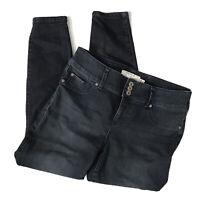 TORRID Blue Denim Jegging Legging Stretch Jeans 3 Button Womens Size 14R