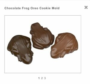 OREO FROG CHOCOLATE MOULD IDEAL FOR HARRY POTTER PARTIES 4 SHAPES ON 1 MOULD