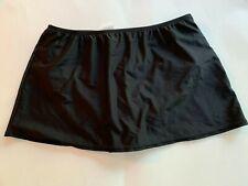 24th & Ocean Women's Swim Skirt Size Medium Black Swimwear NWOT