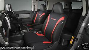 Toyota FJ Cruiser Front Seat Covers Neoprene Vest Type GENUINE NEW
